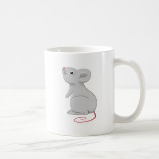 rat classic white coffee mug