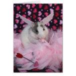 Rat Cupid Card