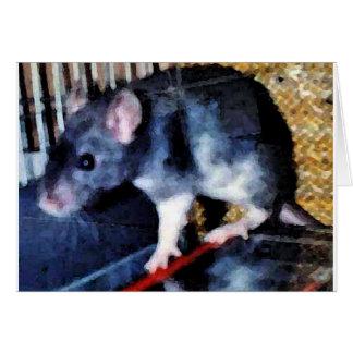 Rat Cuteness Card