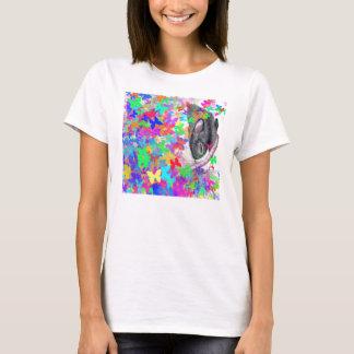 rat dreaming of butterflies T shirt