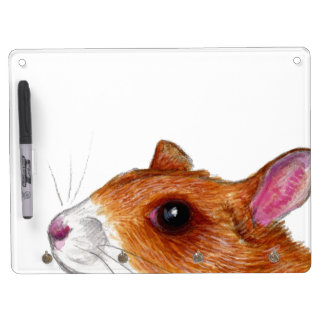 rat dry erase board with keychain hooks