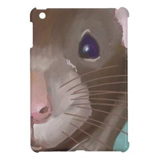 Rat face iPad mini cases