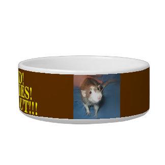 RAT FOOD BOWL CAT FOOD BOWL