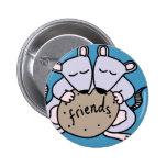 Rat friends 2 inch round button