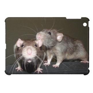 rat friends iPad mini case