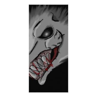 rat ghost rack card design