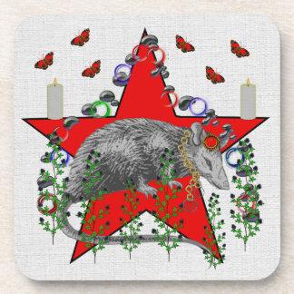 Rat God Beverage Coaster