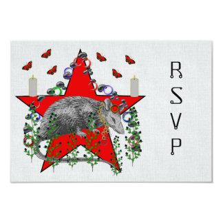 Rat God Card