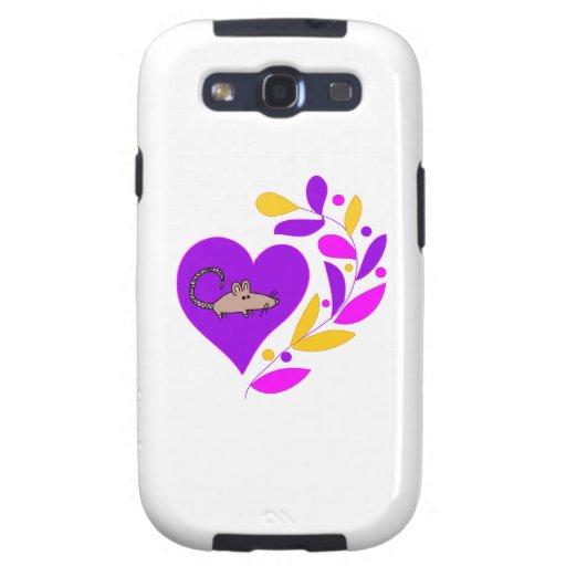 Rat Heart Samsung Galaxy S3 Case
