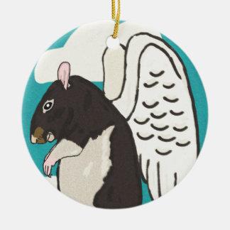 Rat heaven ceramic ornament