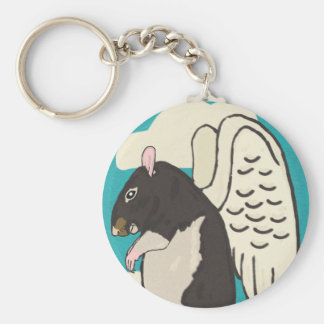 Rat heaven keychain