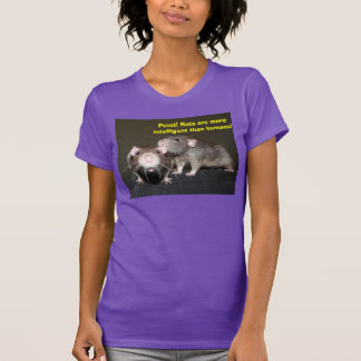 rat intelligence T shirt