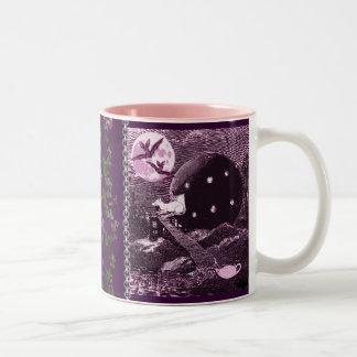Rat Invasion Two-Tone Coffee Mug