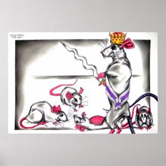 Rat King from The Nutcracker Ballet Poster