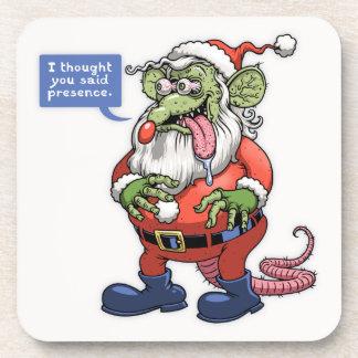 Rat Kringle Drink Coaster