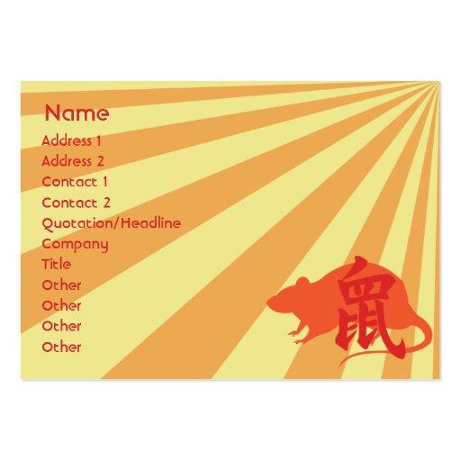 Rat Business Card