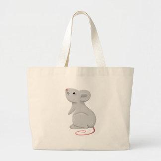 rat large tote bag