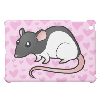 Rat Love (add your own background!) iPad Mini Cover