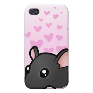 Rat Love Cover For iPhone 4