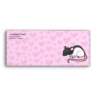 Rat Love Envelope