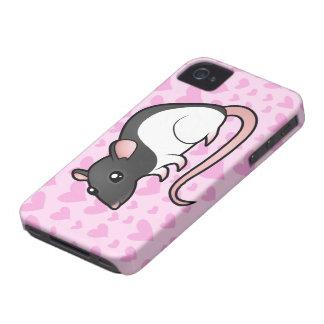 Rat Love iPhone 4 Case-Mate Case