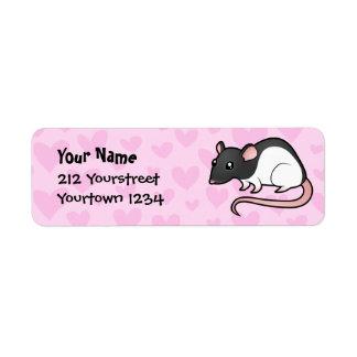 Rat Love Label
