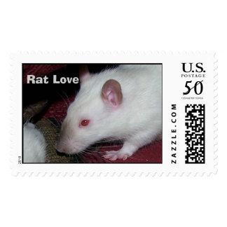 Rat Love Postage