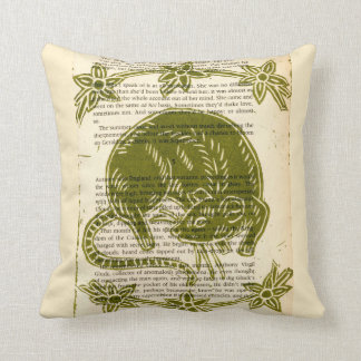 Rat Lovers Throw Pillow