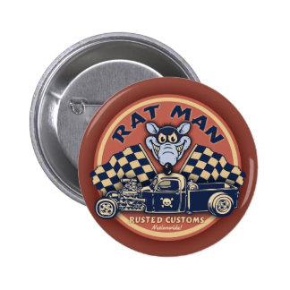 Rat Man II Pin