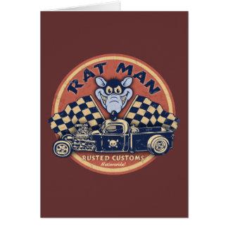 Rat Man Rusted Customs Card