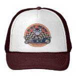 Rat Man Rusted Customs Mesh Hat