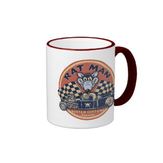 Rat Man Rusted Customs Ringer Coffee Mug