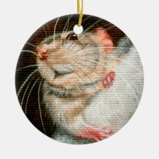 Rat Merry Christmas ornament