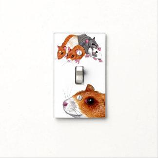 rat mischief light switch cover