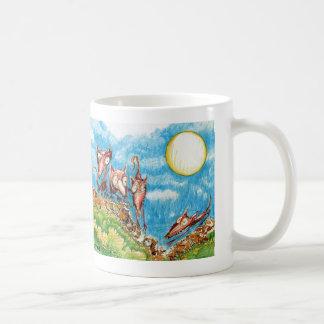 """Rat Moon"" Classic White Coffee Mug"