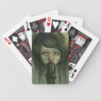Rat Mouth Bicycle Playing Cards