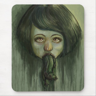 Rat Mouth Mouse Pad