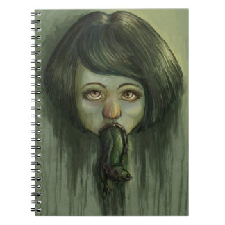 Rat Mouth Spiral Note Book