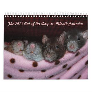 Rat of the Day, er, Month Calendar