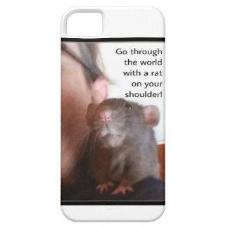 Rat On Shoulder Phone Case