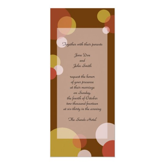 Rat Pack Invitation - Brown