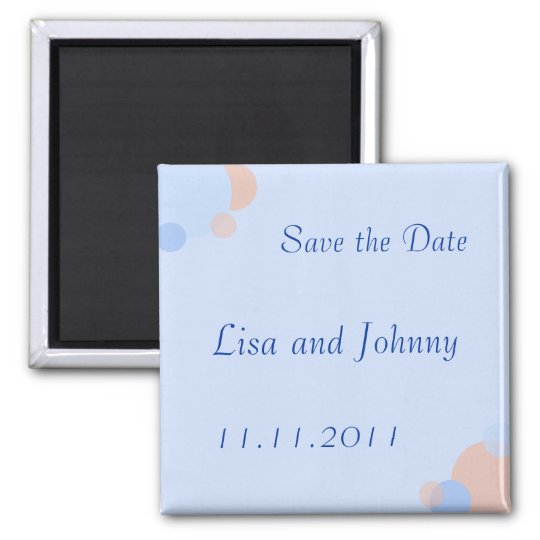 Rat Pack Save the Date Magnet