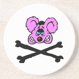 Rat Poison Sandstone Coaster