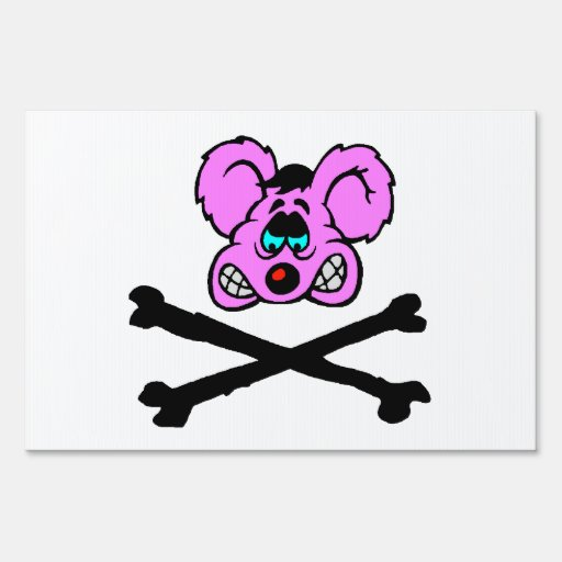 Rat Poison Sign