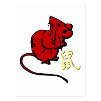 Rat Post Card