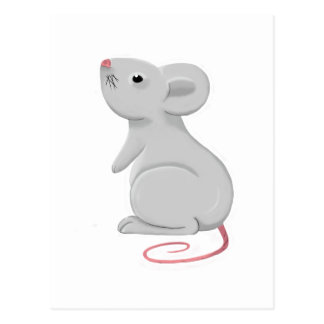 rat postcard