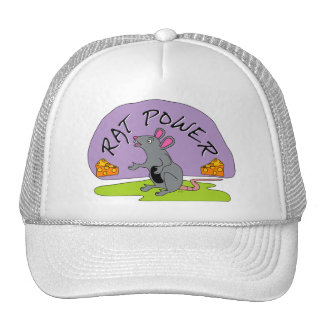 Rat Power Trucker Hat