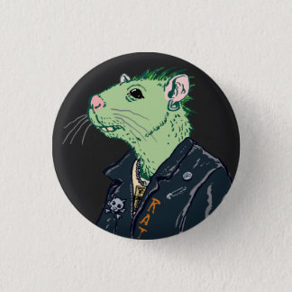 Rat Punk™ Button