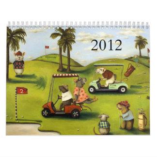 Rat Race 2012 calender Calendar