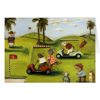 Rat Race 2 At The Golf Course Cards